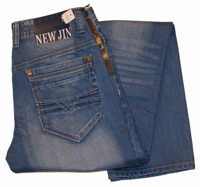"""New Jin jeans  """" Straight """"  Bleach used"""