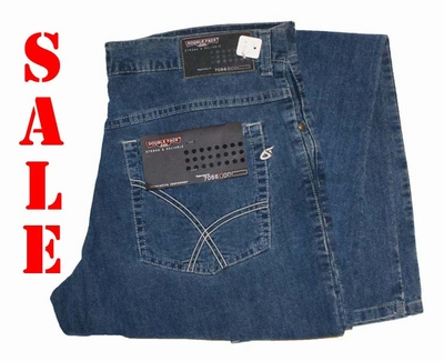 "Double face jeans   "" Blauw """