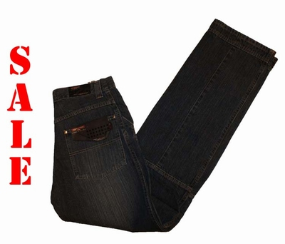 "Double face jeans   "" Tinus /  Worker ""  Dark used"