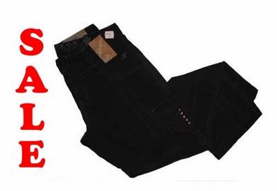 "Double face stretch jeans  "" Balou "" Zwart"