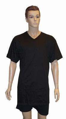 """Grote maten heren onderhemd  """" Pierre Cardin """" zwart"""