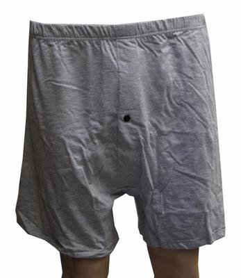 """Grote maten heren boxershort  """" Maxfort """" grijs"""