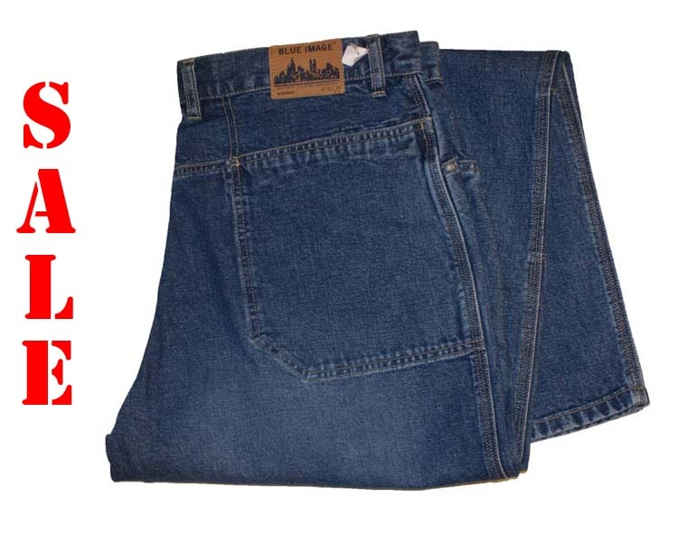 "Blue image jeans   "" Worker ""  Medium stone"