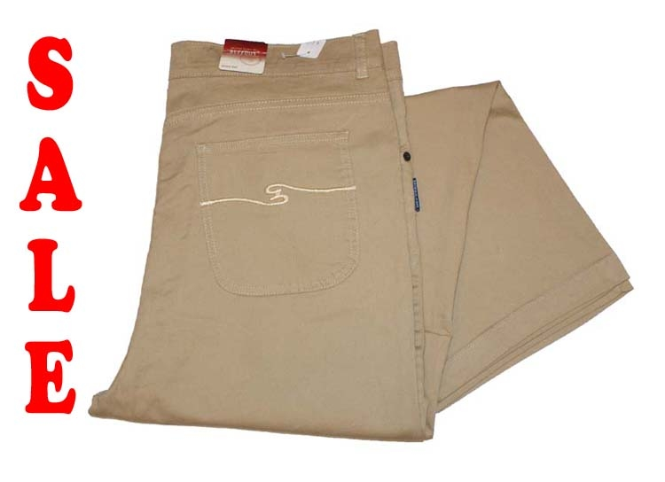 "Buffoon stretch jeans  "" Beige """