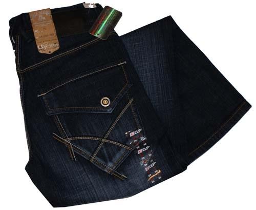 """CLP jeans  """" Clep zakken + grote zakken """"  Dark used"""