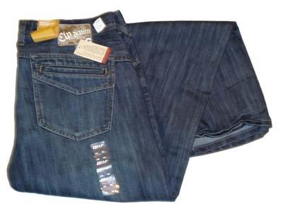 """CLP jeans  """" Sierzakken voor en achterkant  """" Dark used"""