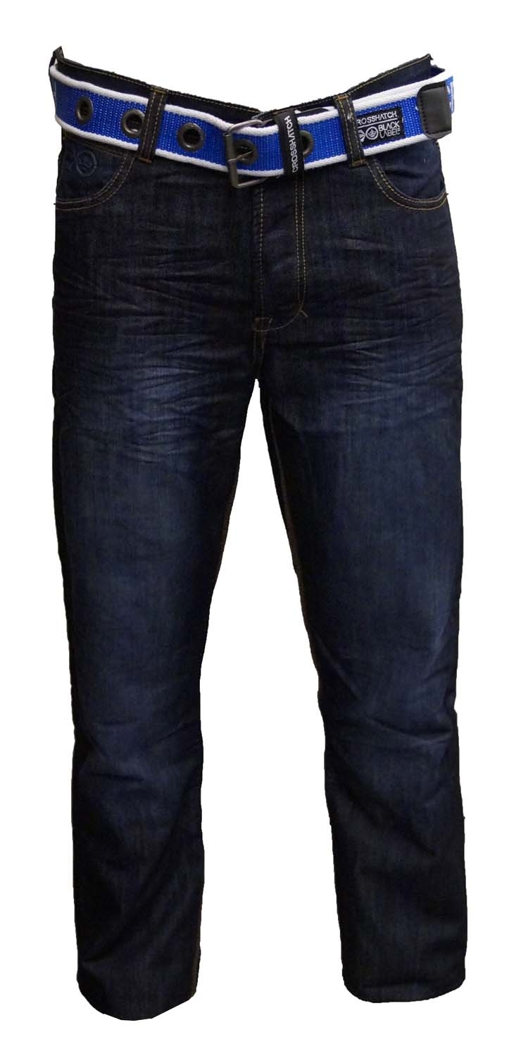 "Cross Hatch jeans   "" Ultra dark used """
