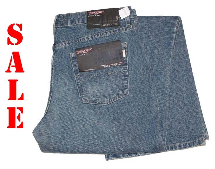 "Double face jeans   "" Met structuur  ""  Medium used"