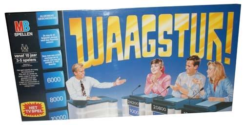 """Gezelschapsspel   """" Waagstuk """""""