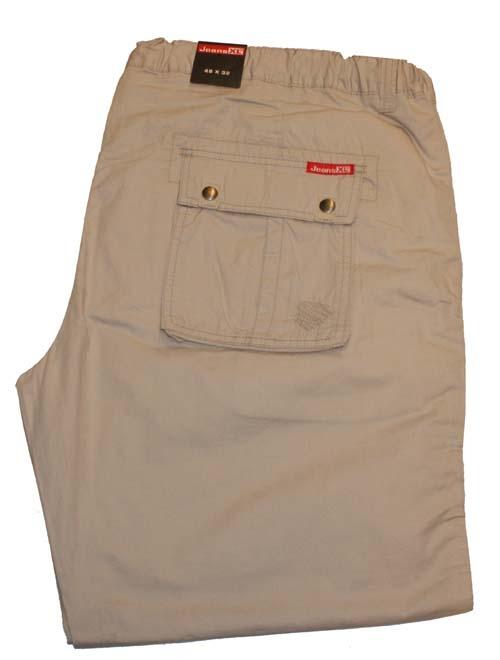 "Jeans XL  Stretch jeans  "" Beige """
