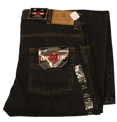 "Life line jeans ""  Texas ""  Zwart"