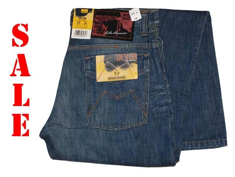 "Maverick jeans   "" Devon  ""  Dark used"