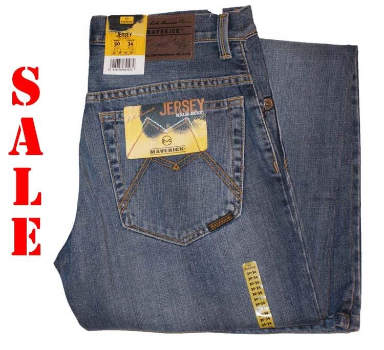 "Maverick jeans  "" Heritage jean  ""  Midden blauw used"