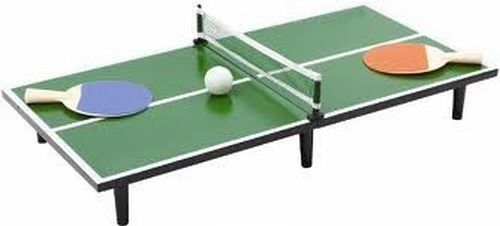 Mini tennis tafel + Bal + Net + Paddles