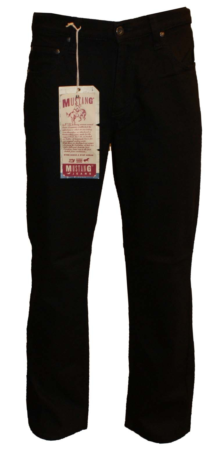 "Mustang stretch jeans  ""  Bige sure ""  Black"
