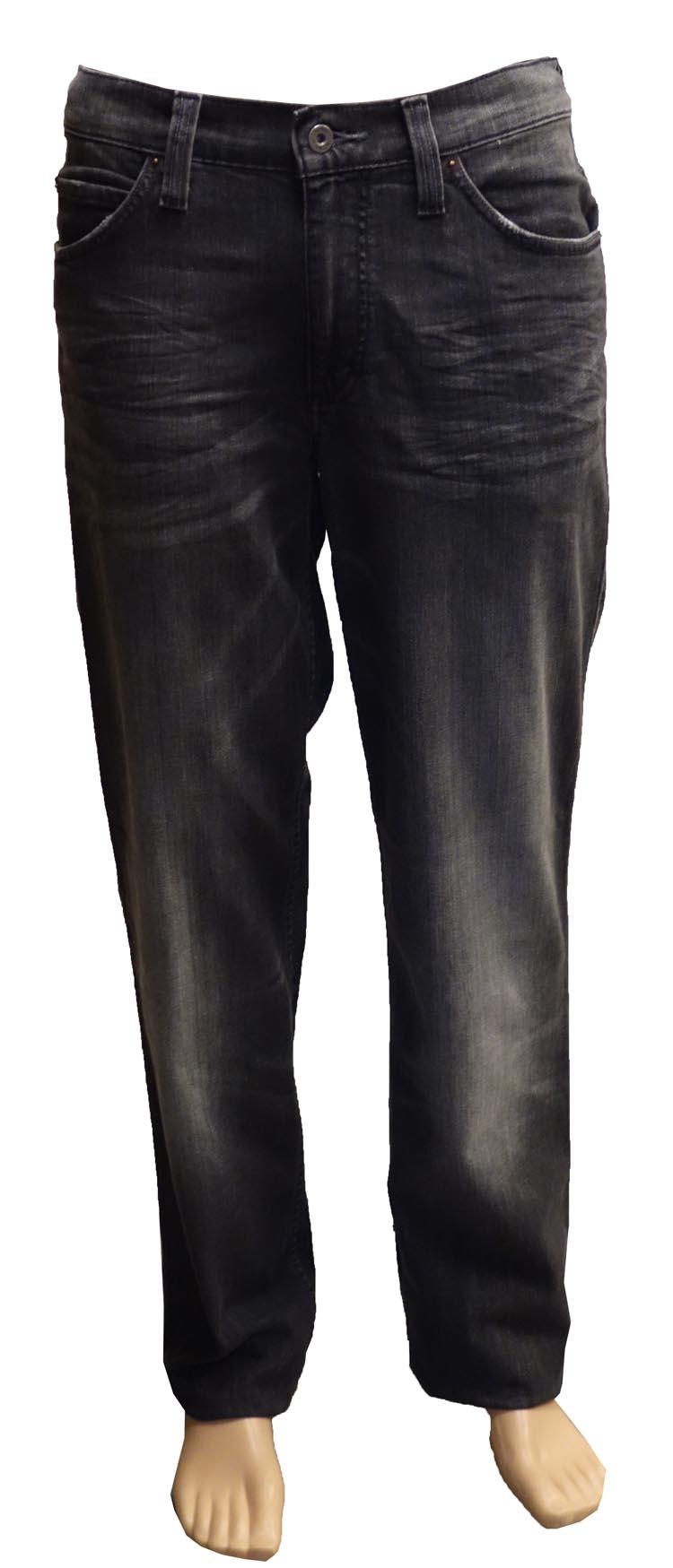 "Mustang stretch jeans  "" Tramper ""  Grijs used"
