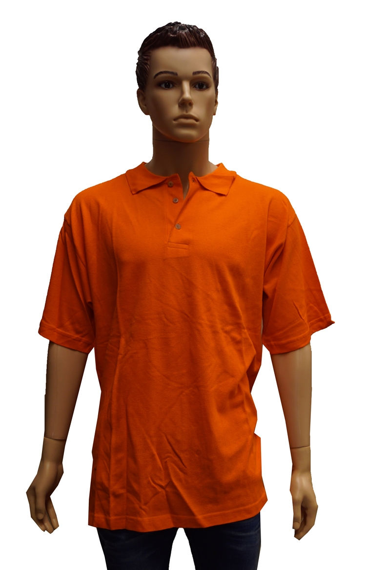 "Polo met kort mouwen   "" Oranje """
