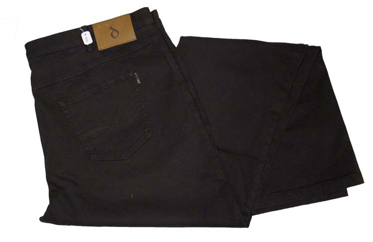 "Vidor stretch jeans  ""  Zwart """