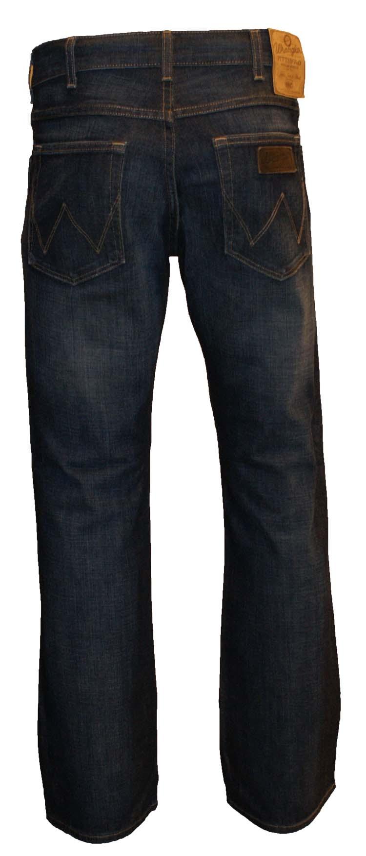 "Wrangler jeans  "" Pittsboro ""  Dark used"