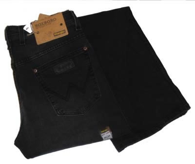 "Wrangler stretch jeans  ""  Roxboro ""  Black used"