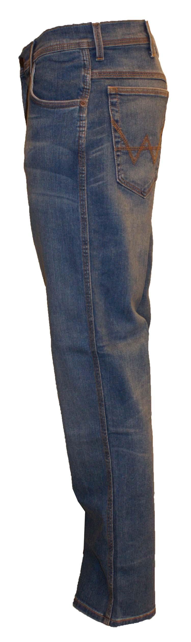"""Wrangler stretch jeans  """"  Texas """"  Licht blauw used"""