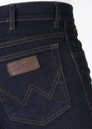 "Wrangler stretch jeans  ""  Texas ""  Ultra dark used"