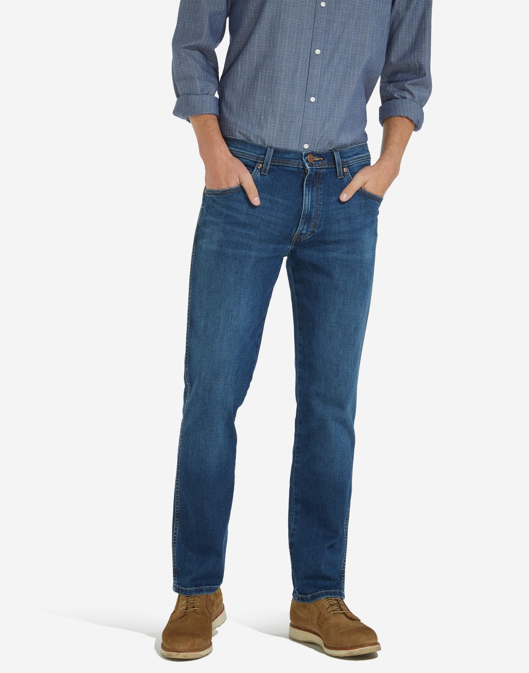"Wrangler stretch jeans  "" Arizona""  Dark used"
