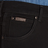 "Wrangler stretch jeans  "" Arizona""  Zwart"