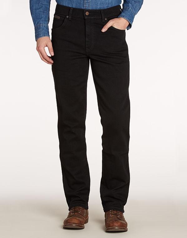 """Wrangler stretch jeans  """" Arizona""""  Zwart"""