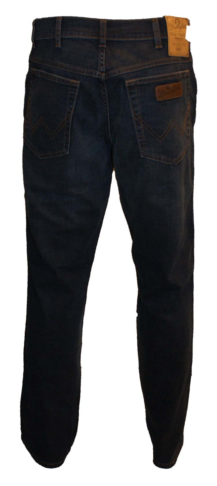 "Wrangler stretch jeans  "" Texas ""  Dark used"
