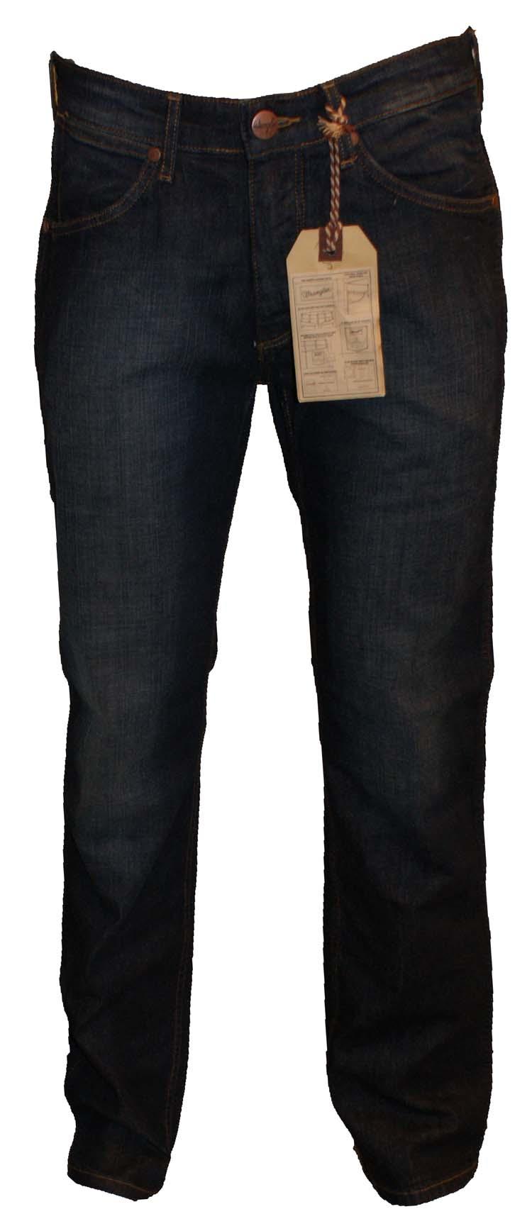 "Wrangler stretch jeans "" Ace ""  Ultra dark used"